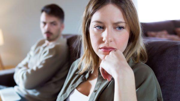 een man een vrouw en hun scheiding