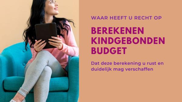 Berekenen Kindgebonden Budget