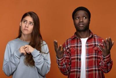 vrouw en man begrijpen elkaar niet