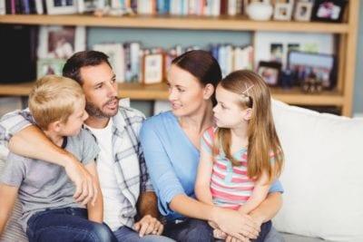 kinderen verstellen dat wij gaan scheiden