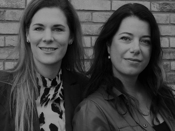 Anita Degeling en Eveline Corbet